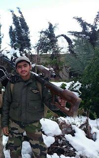 pemuda suriah ini wafat setelah menewaskan lebih dari 100 kafir harby milisi syiah