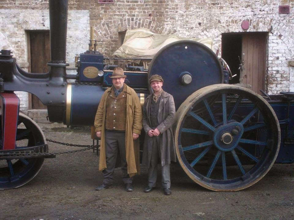 Celtic Steamers appear in 'The Ripper' Series