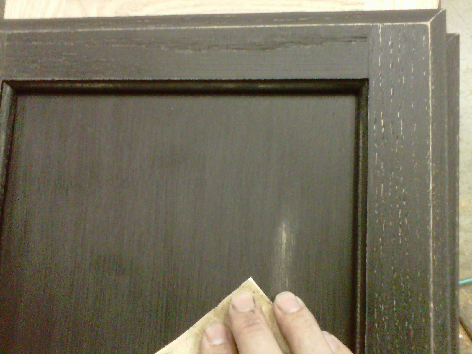 Distressed Oak Kitchen Cabinets