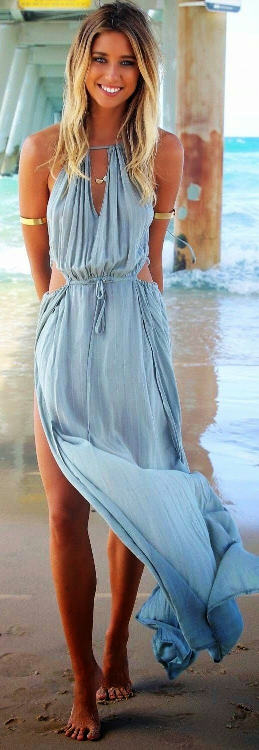 believe it or not, the comfort and beauty and the perfection can only be found in maxi dresses in summer.