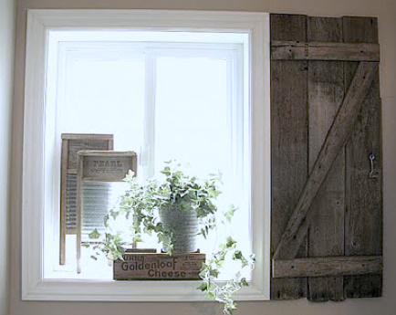 How To Build Your Own Barn Wood Shutter Via Http://www.funkyjunkinteriors U2026