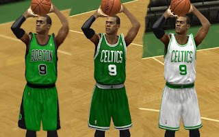 NBA 2K13 Boston Celtics Jersey Patch Mods