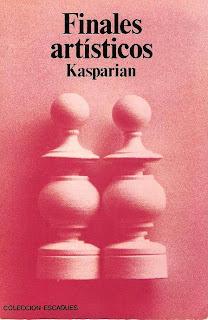Portada del libro Finales Artísticos de Kasparian