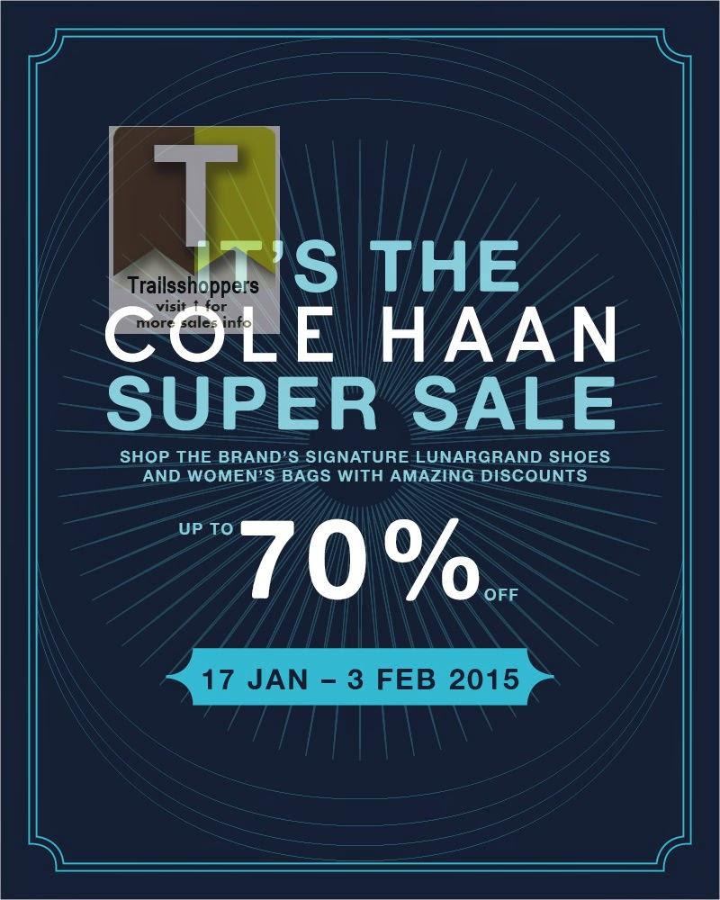 It's The Cole Haan Super Sale