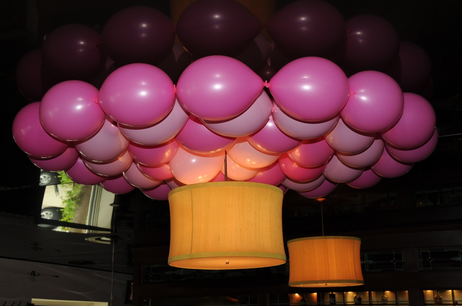 Design Classic Interior 2012: Como Decorar un baby shower con globos