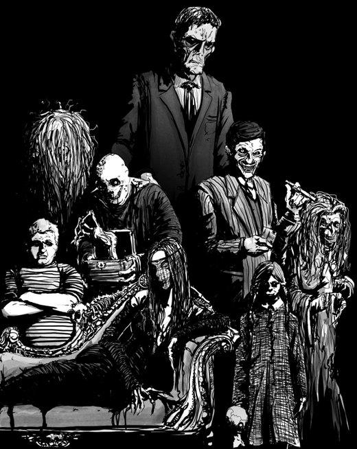 The Addams Family por TristJones