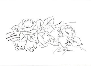 rosas com cajus
