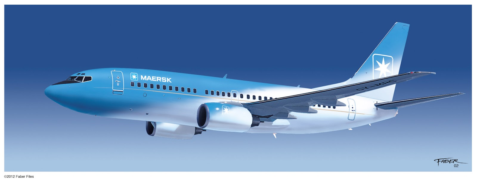 Faber files maersk air decoration concept - Air deco ...