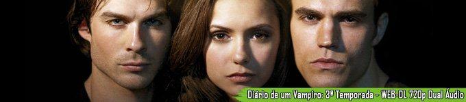 Diário de um Vampiro: 3ª Temporada - WEB-DL 720p Dual Áudio