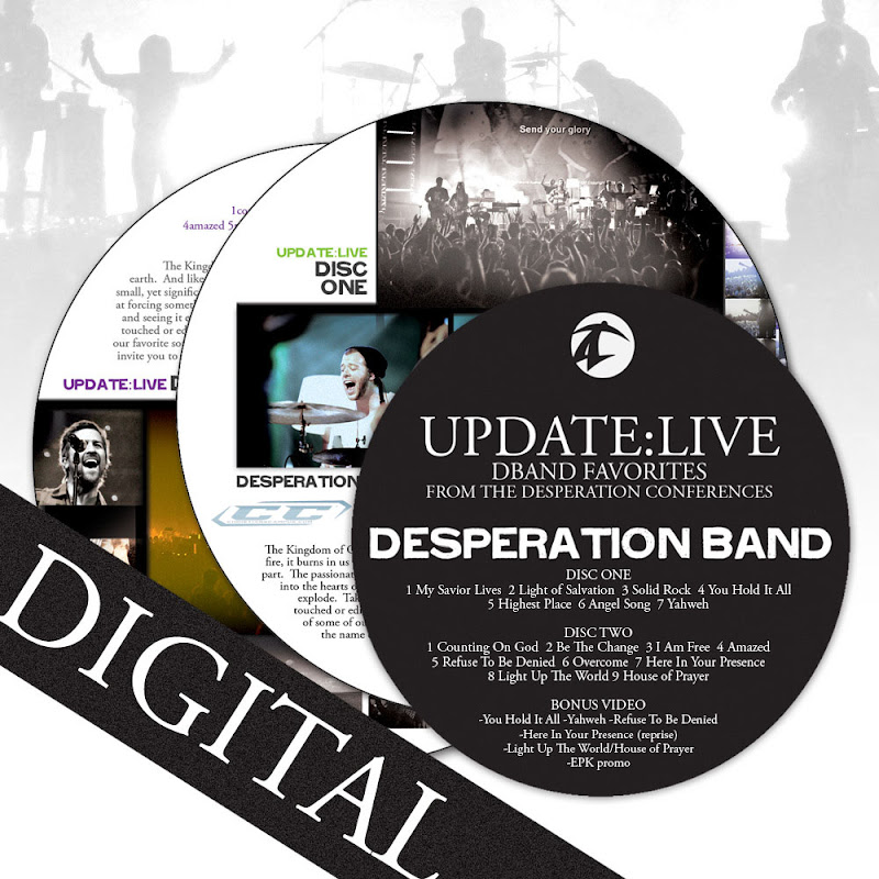 Desperation Band - Update Live (2011)  English Christian Album