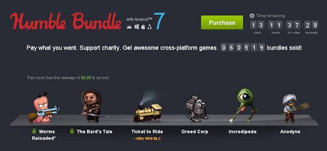 4 Juegos Android por un solo céntimo de dolar ;-)
