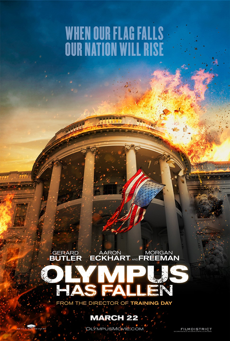 Olympus Has Fallen 2013 movie