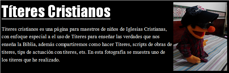 titeres.cristianos.net