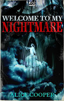 capa de Welcome to My Nightmare, por Alice Cooper