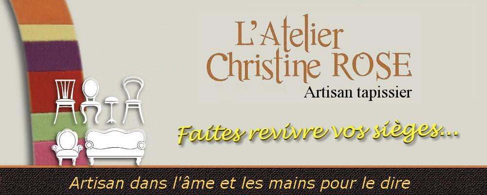 Christine ROSE  - artisan tapissier  - réalisations