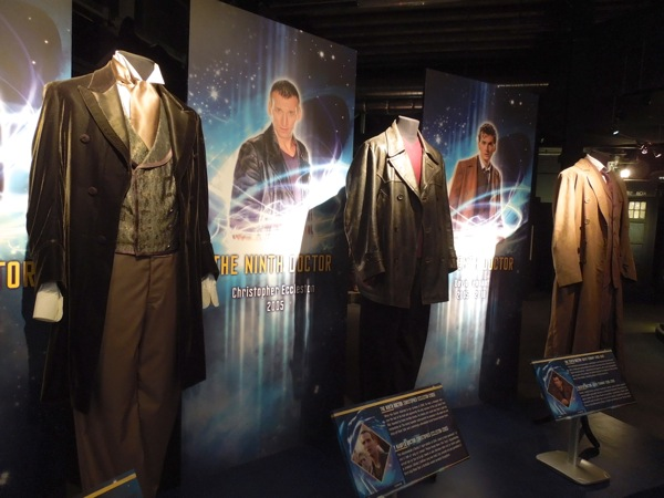 Doctor Who Eighth Ninth Tenth costumes