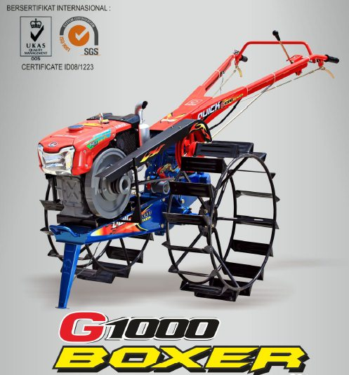 Traktor Tangan Quick G 1000 Boxer