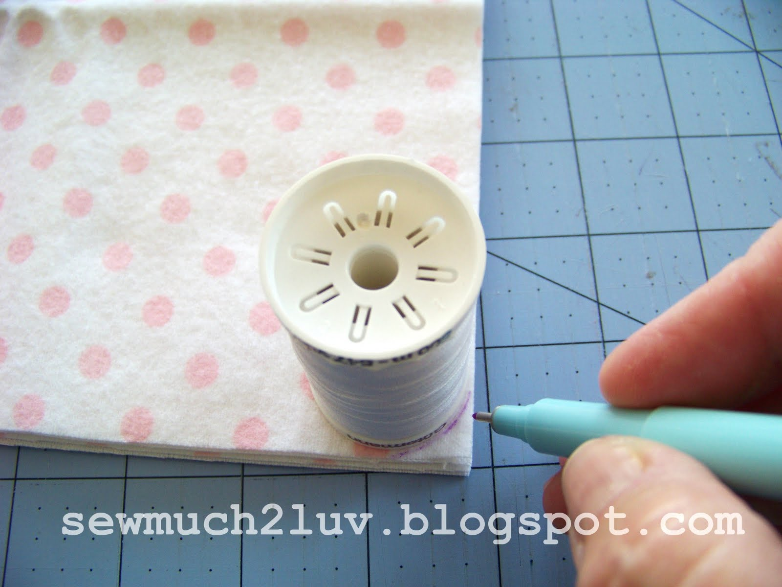Sew Much 2 Luv Flannel Baby Wipes Tutorial