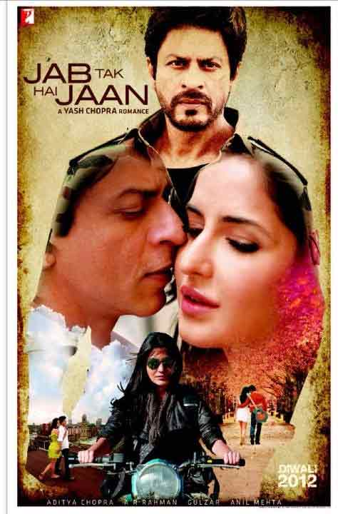 movie poster of jab tak he jaan film review story