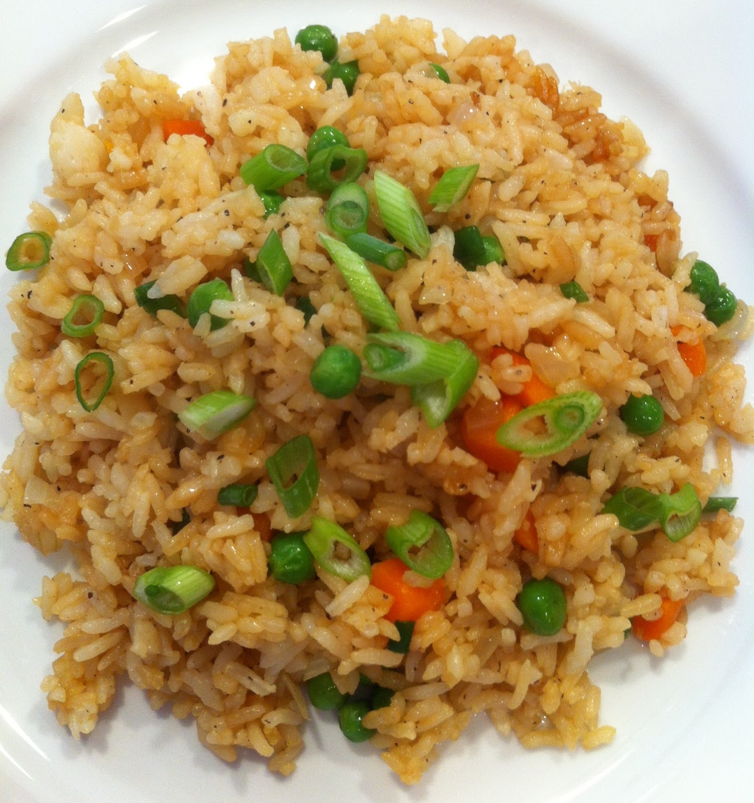 Richly blessed hibachi style fried rice 15 minute meal our favorite thing was easily the fried rice and we were craving it one night like crazy so i googled itd found a really great and easy recipe ccuart Choice Image