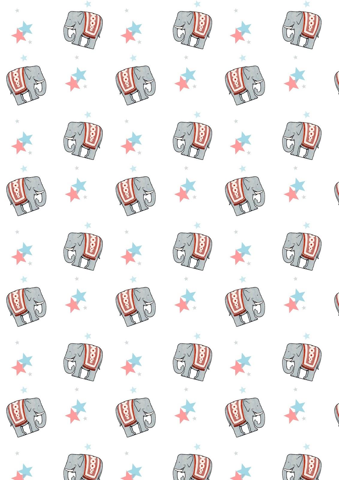 free printable childrenu0026#39;s birthday pattern paper (DIN A4)
