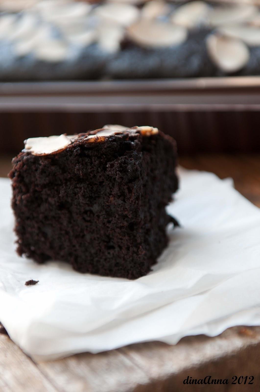 Eggless Moist Chocolate Cake Hesti