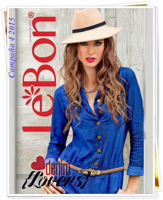 Catalogo de Lebon Campaña 4 2015
