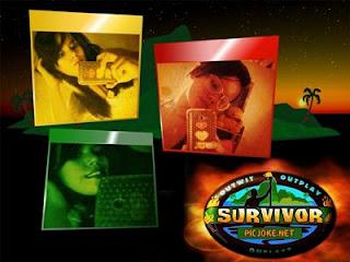 Moldura de Survivor e colagem para a montagem de fotos