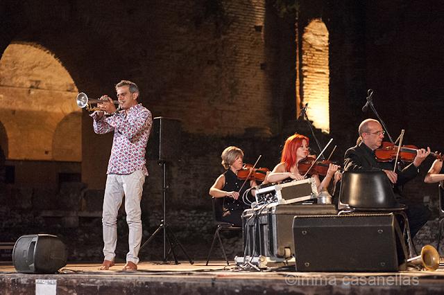 Paolo Fresu amb l'Orchestra del Teatro Vittorio Emanuele, Taormina, 16-9-2015