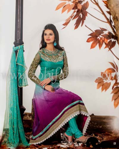 Zobi Fabrics Latest Party Wear Outfits Collection 2013 For girls Women 3 - Zobi Fabrics Latest Party Wear Outfits