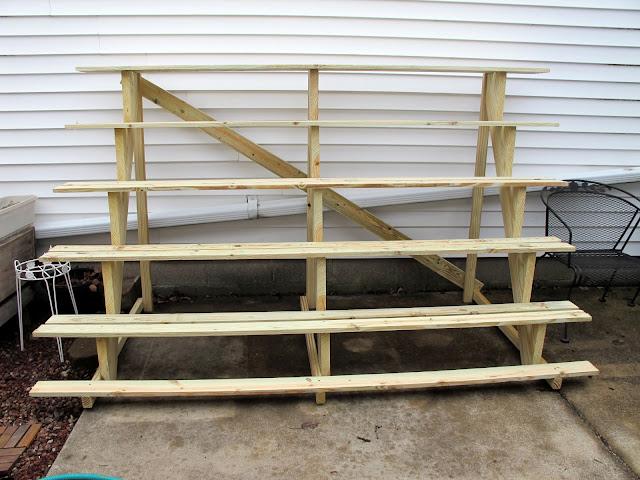 garden patio plant stand