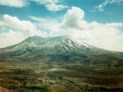 Mt. Saint Helens from Johnston Ridge