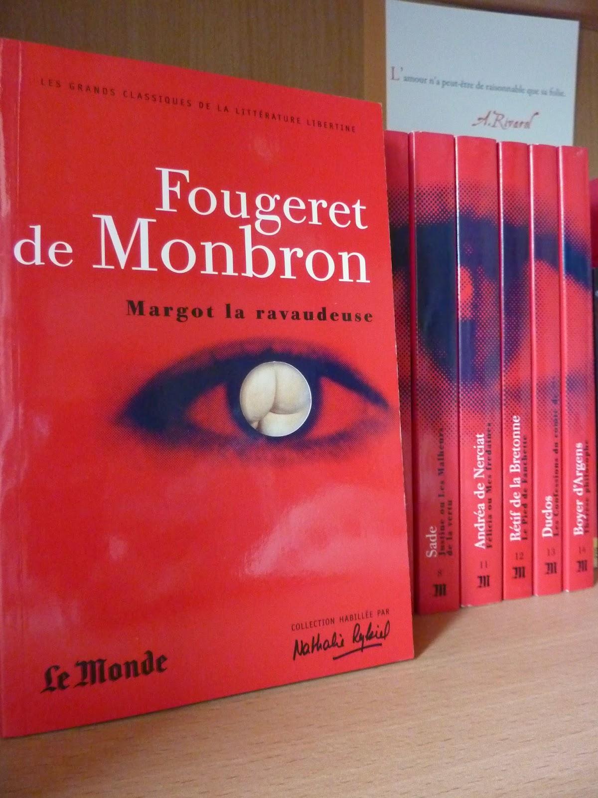 Le canapé couleur de feu - Fougeret de Monbron
