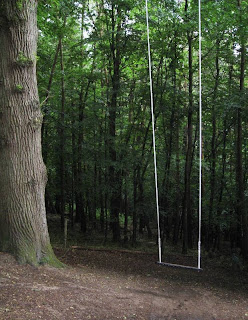 Swing in the forest
