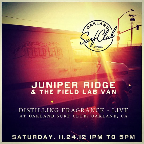 Juniper Ridge Field Lab Event Announcement