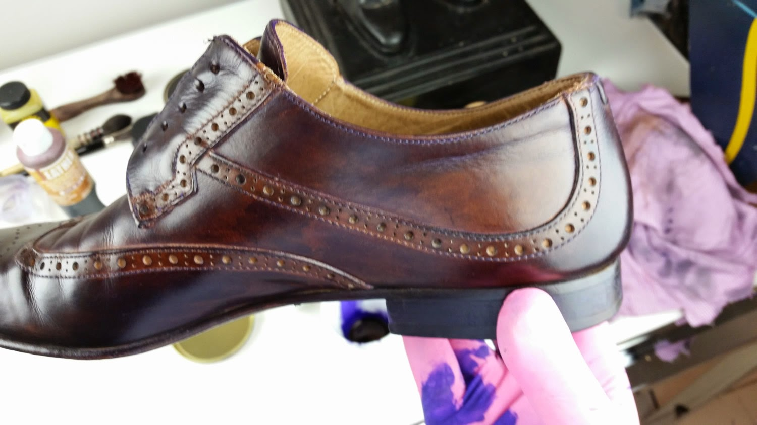 Le Noeud Papillon Of Sydney For Lovers Bow Ties August 2014 New Tie Knot Styles Diagrams Http Lenoeudpapillonblogspotcom 2012 Boots That Were 20 Years Old And On Friday After Receiving A Ruby Brown Black Patina Found Brand Home With Stockbroker In