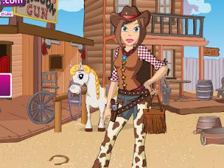Juego de vestir a la vaquera del oeste