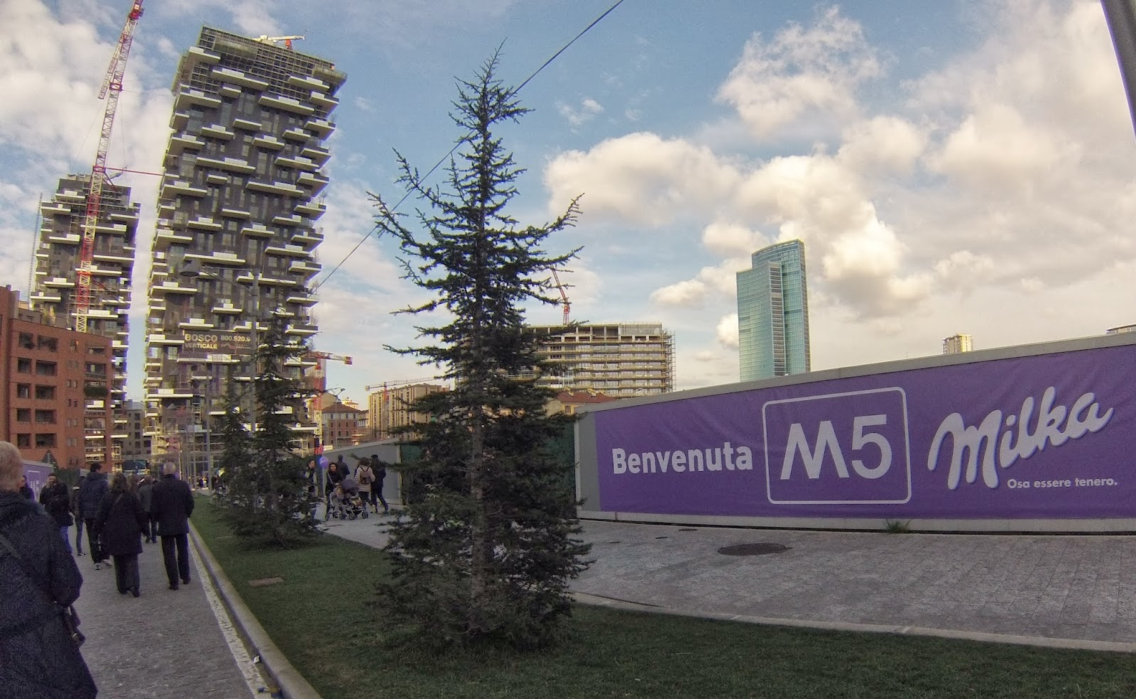 Milano porta garibaldi hub metropolitano journeyers il - Passante porta garibaldi ...