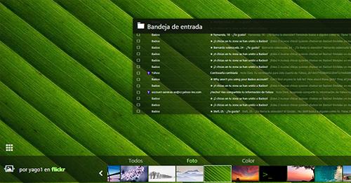 Cambiar fondo pantalla Yahoo (modo rapido)