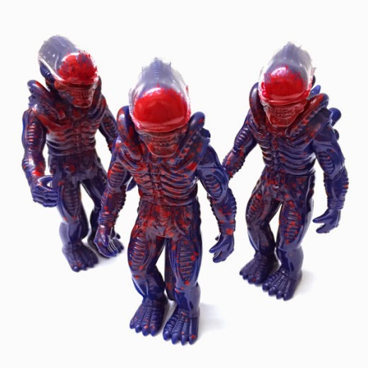 """Sudden Death"" Alien Popy Vinyl Figure by Super7 & Secret Base"