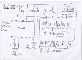 how to build a 2kva inverter circuit diagram september 2012 circut diagram this is a simple 2kva inverter circuit diagram and can be use to power a fridge and a tv set a fan and dvd player and some lighting energy saving bulg