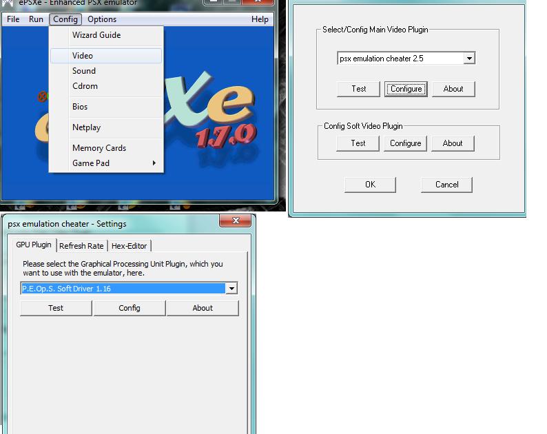 pec psx emulator cheater 4.6 download