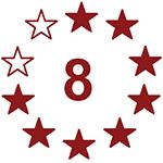8 von 10 Sterne