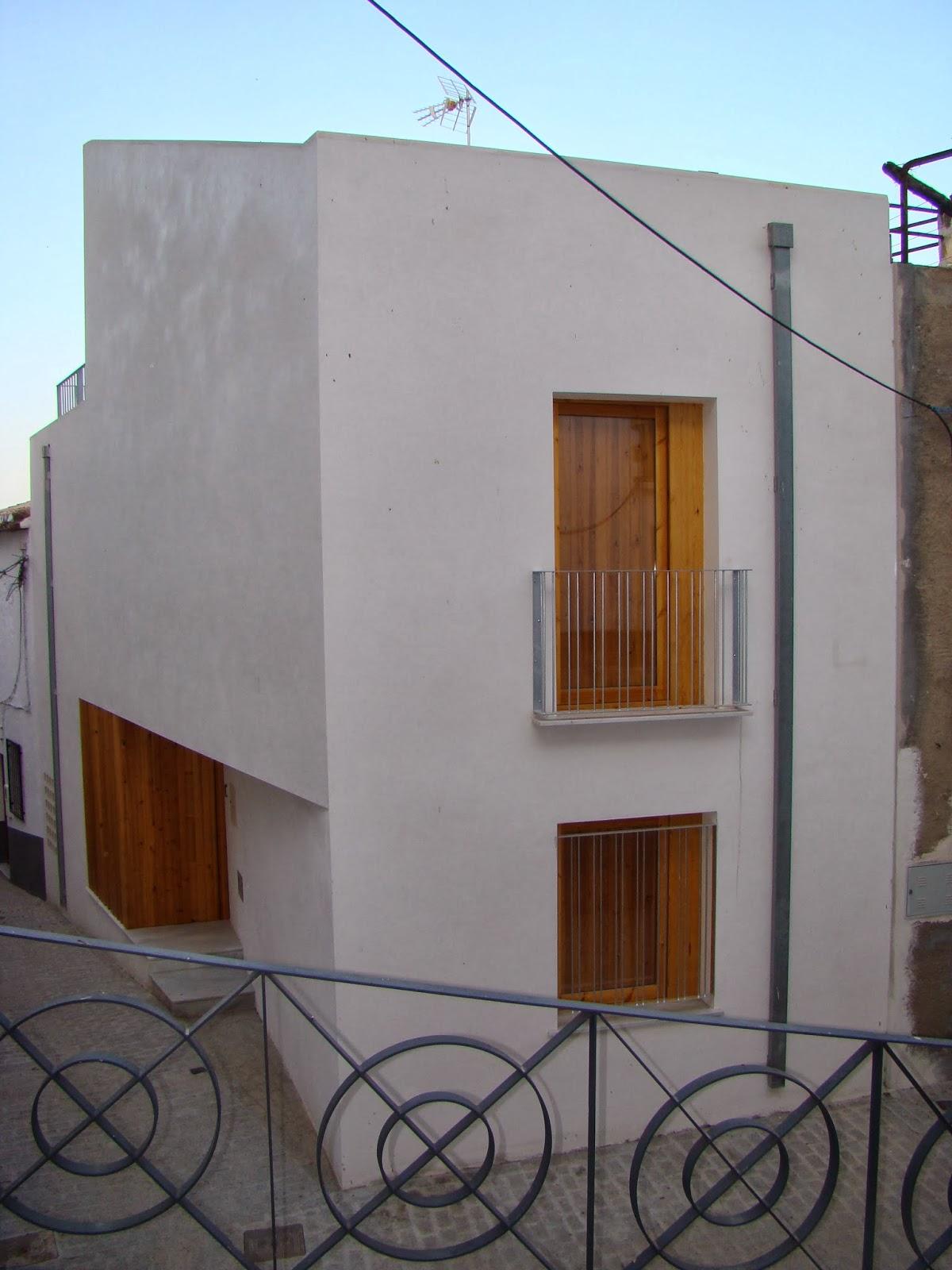 Mn arquitectos almeria vivienda mini en ser n - Vivienda en almeria ...