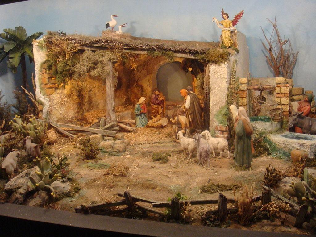 Cuentan los viejos del lugar el bel n navide o for Nacimiento belen