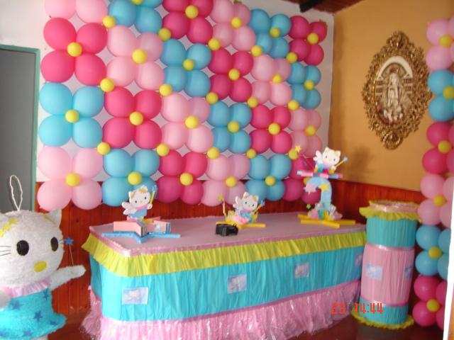 Chiquifiestas shop fiestas infantiles hello kitty - Imagenes de decoracion de fiestas infantiles ...