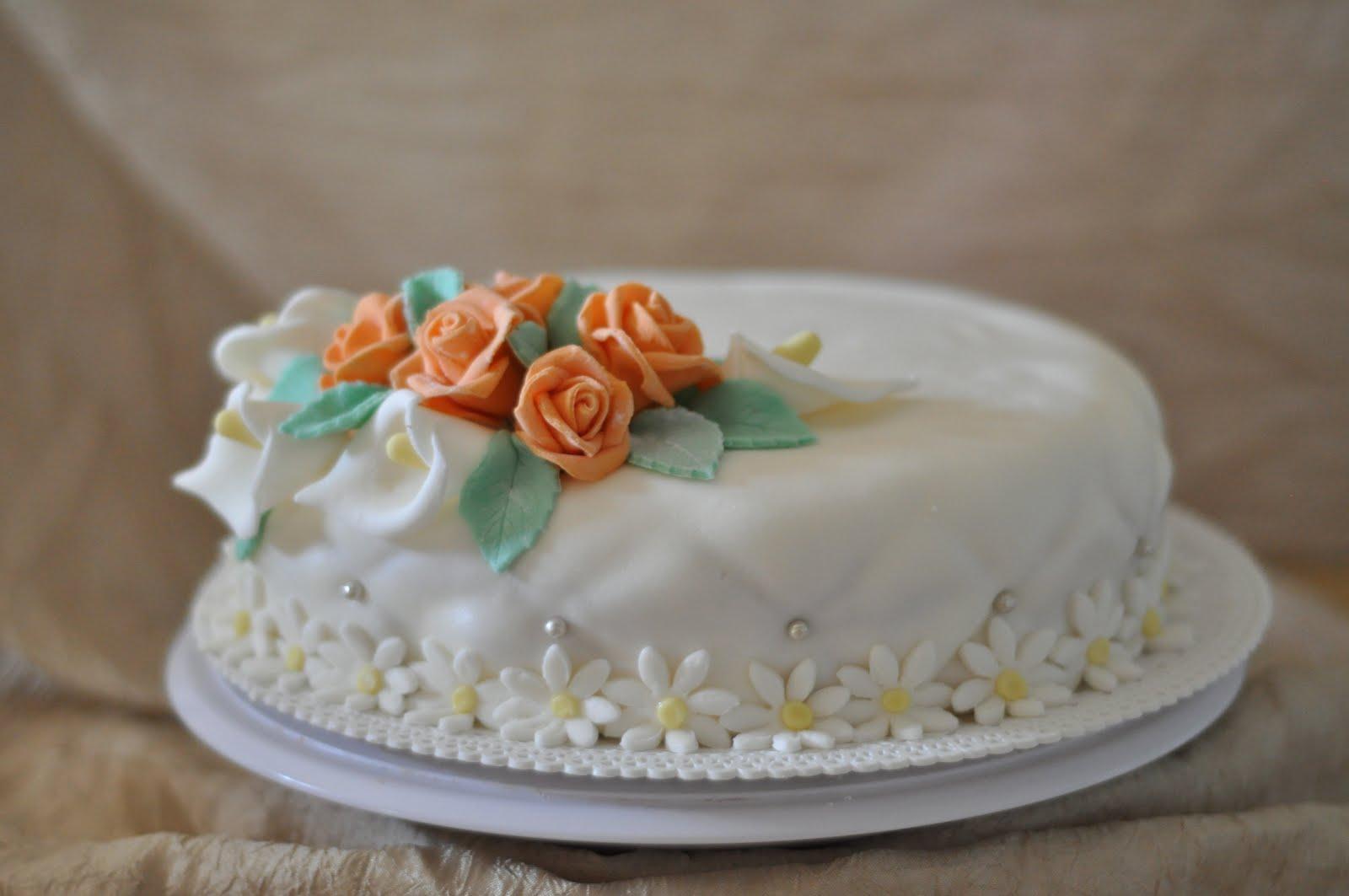 le torte di mirtillo ditelo con i fiori