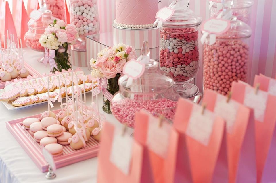 the blog pink and white baby shower by life is sweet candy buffets