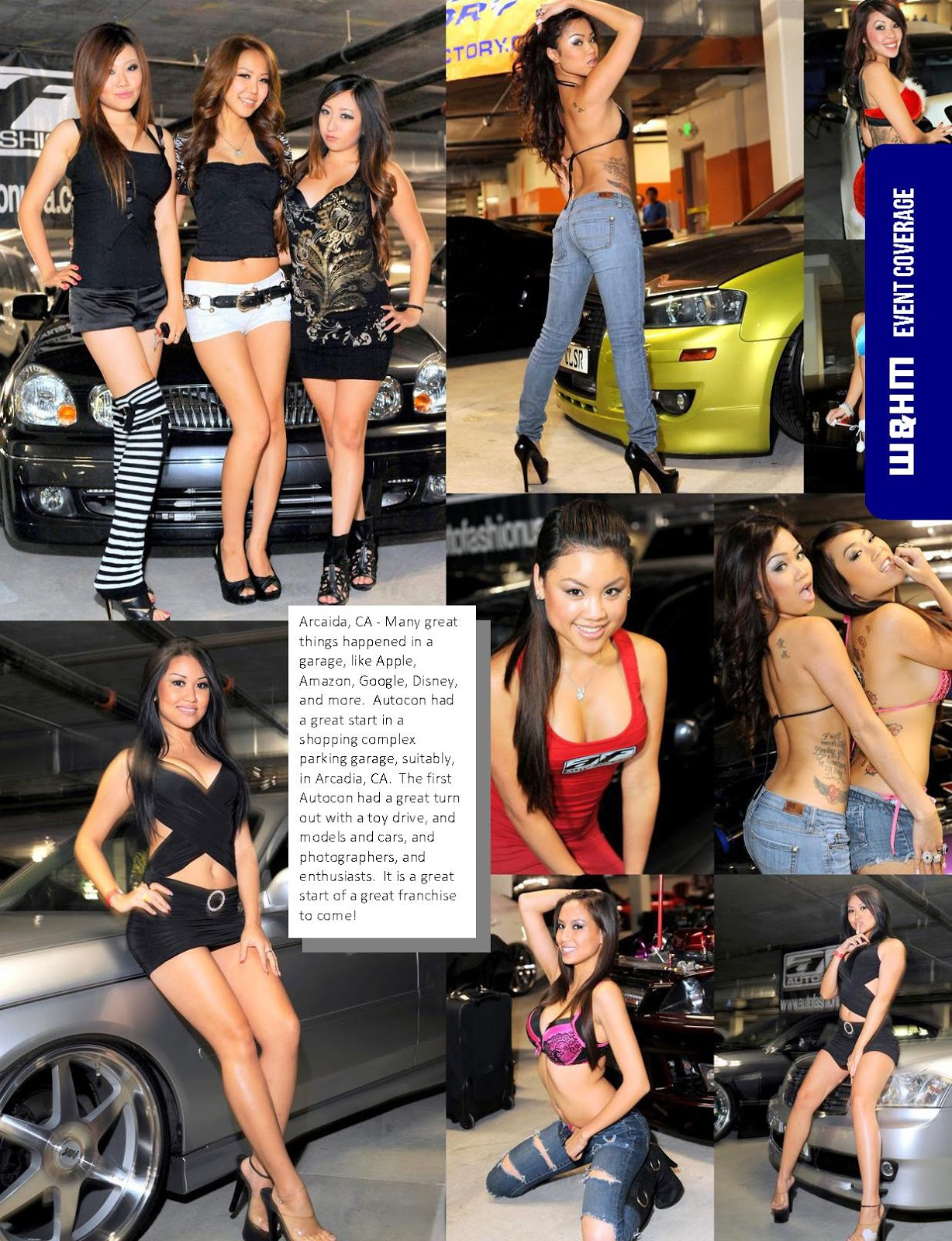 WHM Wheels And Heels Magazine Autocon Los Angeles Is Only - Car show los angeles ca
