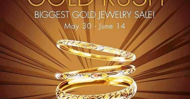 Manila Shopper Metro Stores Gold Rush Jewelry Sale June 2013